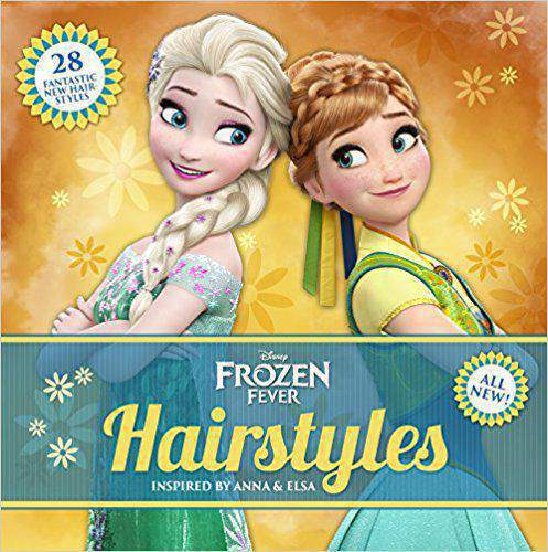 Disney Frozen Fever Hairstyles Inspired by Anna and Elsa