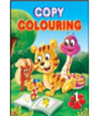Copy Colouring Vol. 1 To 4 (English) - PB