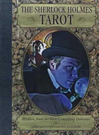 Sherlock Holmes Tarot card -