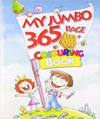 MY JUMBO 365 PAGE COLOURING