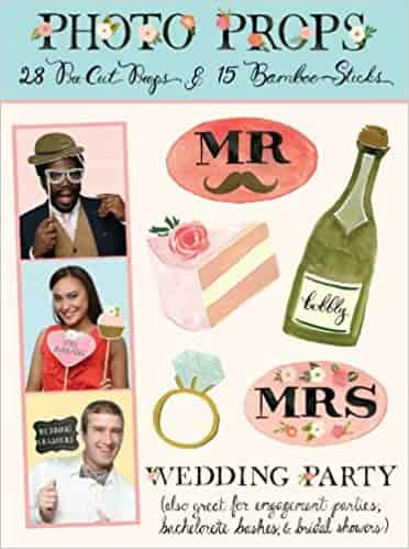 Wedding Party Photo Props