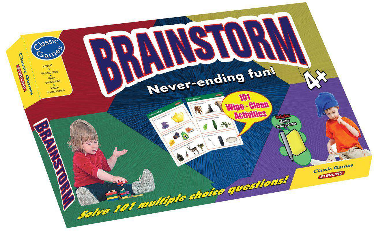 Classic Games Brain Strom Never Ending Fun