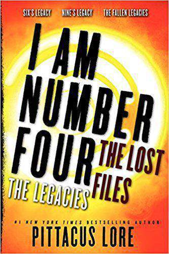 I Am Number Four: The Lost Files: The Legacies    -    (PB)