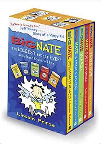 Big Nate: The Biggest Box Set Ever!  -  Paperback