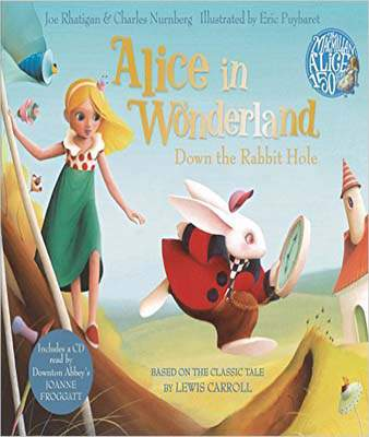 Alice in Wonderland: Down the Rabbit Hole Book