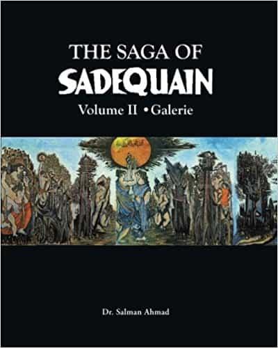 The Saga of Sadequain (2 Vol Set) With Jacket Box