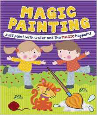 Magic Painting Boy & Girl: Just Paint with Water and the Magic Happens! - Paperback