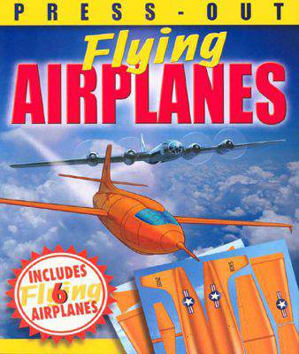 Press-Out Flying Airplanes