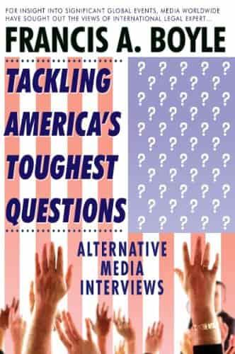 Tackling America's Toughest Questions: Alternative Media Interviews