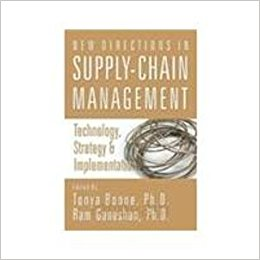 New Directions In Supply-Chain Management