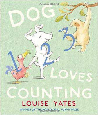 Dog Loves Counting Paperback