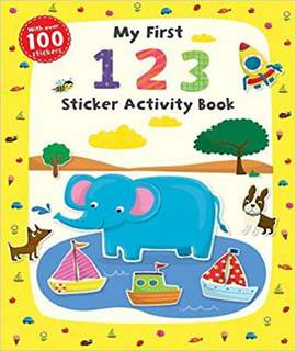 My First 1 2 3 Sticker Activity Book (First Skills) - Paperback