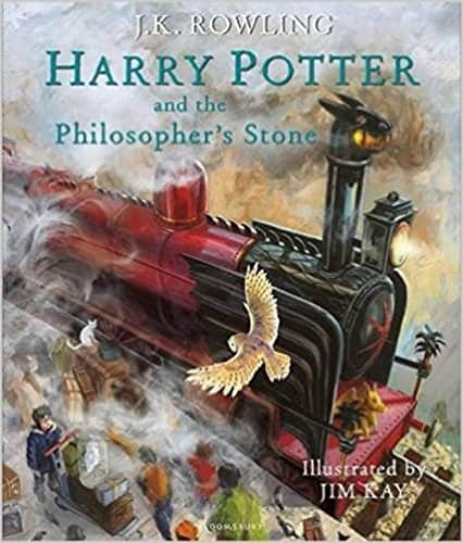 Harry Potter and the Philosopher's Stone Illustrated Edition  -