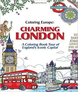 Coloring Europe Charming London