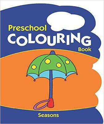 Seasons (Preschool Colouring Book)