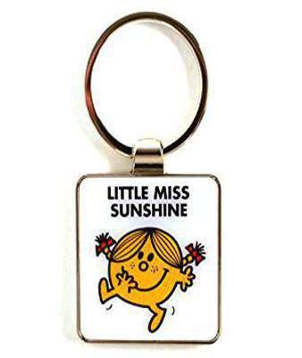NEW! Mr Men Keyring Little Miss Sunshine