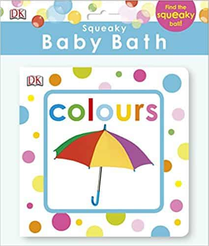 Squeaky Baby Bath Book Colours (Baby Touch and Feel)