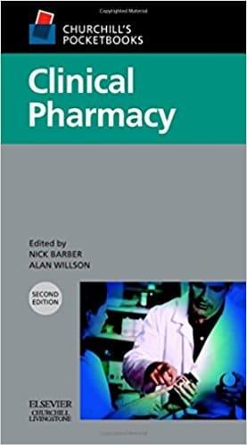 Churchill's Pocketbook of Clinical Pharmacy, 2e (Churchill Pocketbooks)