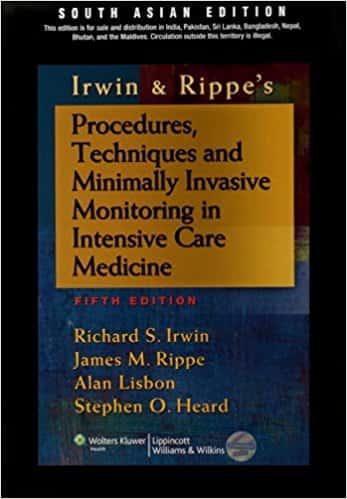 Procedures, Techniques & Minimally Invasive Monitoring in Intensive Care Medicine