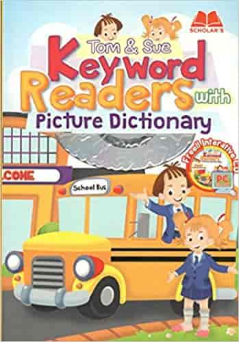 Tom & Sue Keyword Reader with Picture Dictionary