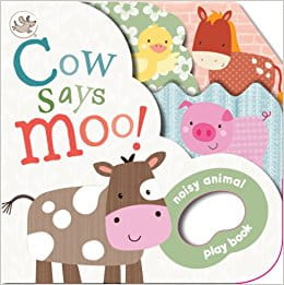 Cow Says Moo!: Noisy Animal Playbook (Little Learners)