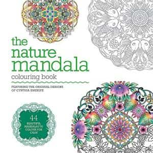 Coloring Book for Adults: nature mandala