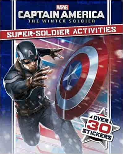 Marvel Captain America the Winter Soldier Super-Soldier Activities