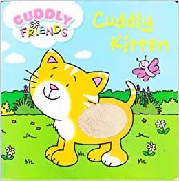 Early Learning Cuddly Kitten Board Book stroke the furry kitten & read her story