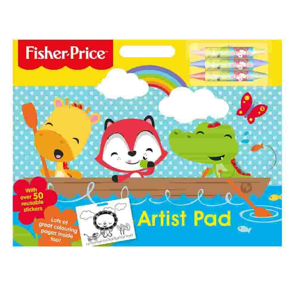 Alligator Products 2956/FPAR Fisher Price Artist Pad