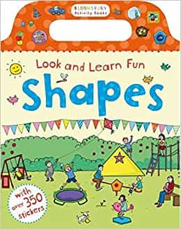 Look and Learn Fun Shapes (Chameleons)