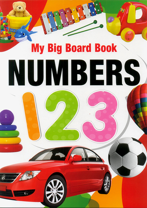 My Big Board Book Numbers