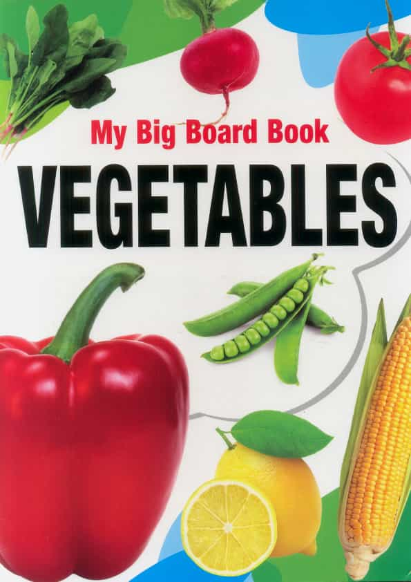 My Big Board Book Vegatables