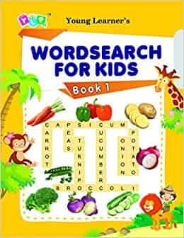 Word Search For Kids Book 1