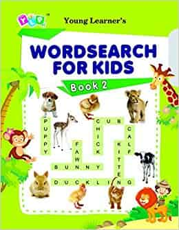 Word Search For Kids Book 2