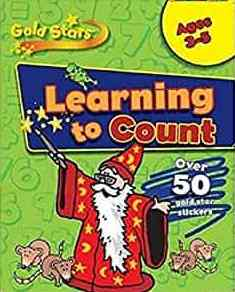 Goldstars Learning to Count 35 Gold Stars Pre School Workbook