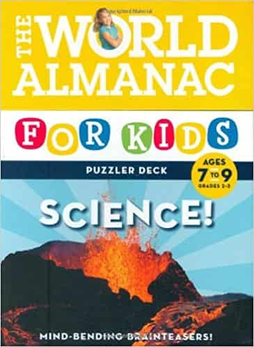 World Almanac Puzzler Deck: Science: Ages 7-9 (World Almanac Puzzler Deck)