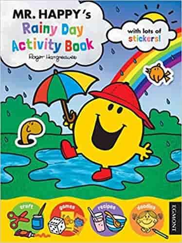 Mr Happy's Rainy Day Activity Book (Mr Men)