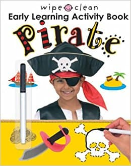 Wipe Clean Early Learning Activity Book: Pirate
