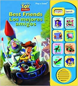 Little English Spanish Toy Story (Little English Spanish Book)