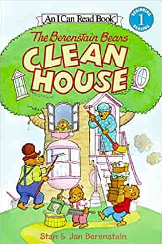 Berenstain Bears Clean House (I Can Read Level 1