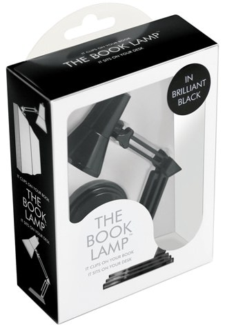 The Book Lamp Brillant Black