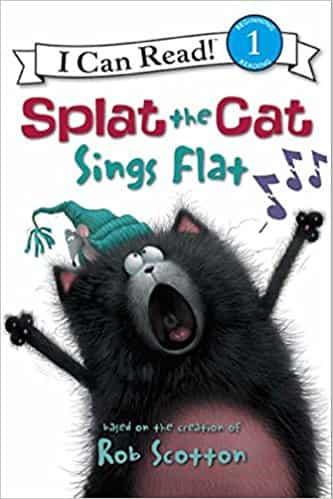 Splat the Ca: Splat the Cat Sings Flat (I Can Read Level 1)