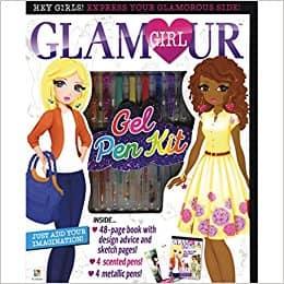 Glamour Girl Gel Pen Kit (Glamour Girl Series)