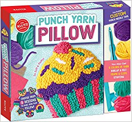 Punch Yarn Pillow
