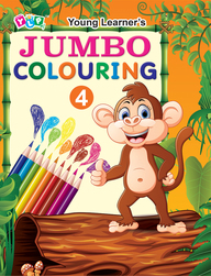 Jumbo Colouring Book - 4