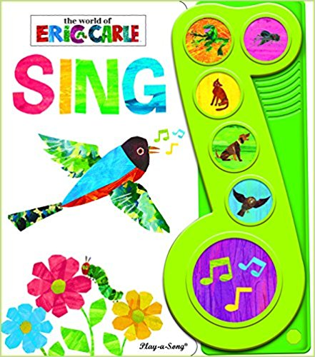The World of Eric Carle Sing Little Music Note Sound Book