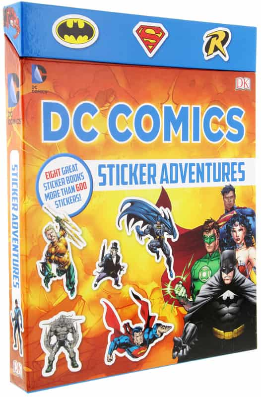 DC Comics Sticker Adventures