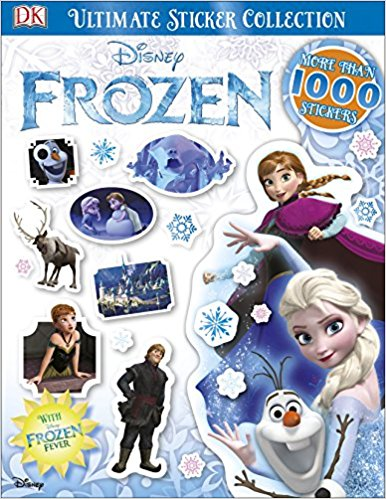 Ultimate Sticker Collection Disney Frozen