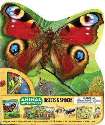 Animal Adventures: Insects & Spiders (Animal Adventures (Silver Dolphin)