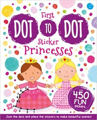My First Sticker Dot-to-Dot: Princesses